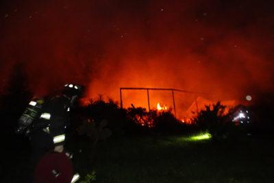 Ataque incendiario destruyó sede vecinal en Cañete