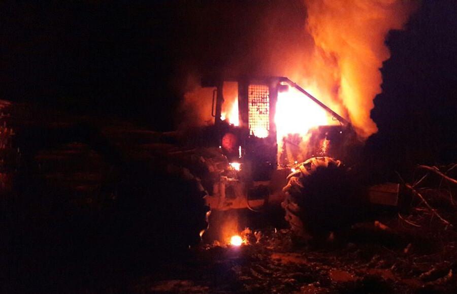 Ataque incendiario en fundo de Arauco deja $1.200 millones en pérdidas