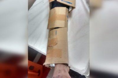 """Hospital El Pino por paciente inmovilizado con cartón: """"Es una situación absolutamente puntual"""""""