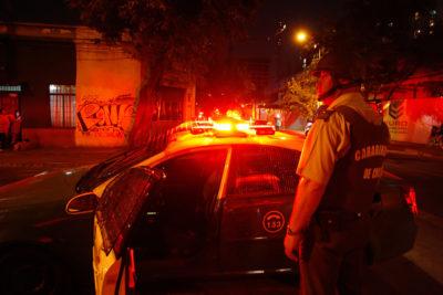 Una mujer herida deja balacera en el Teatro Caupolicán