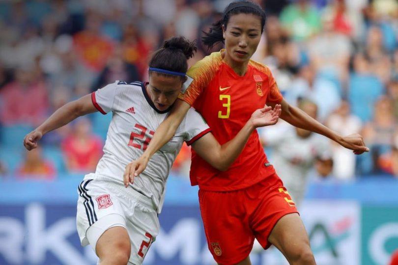 Mal resultado para la Roja: China empató con España en el Mundial Femenino