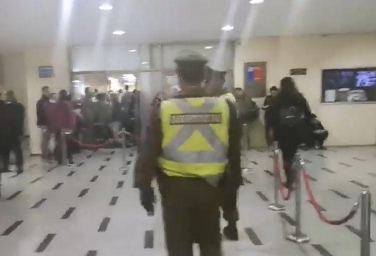Compin: sujeto se realizó cortes en los brazos en protesta por no pago de licencias médicas
