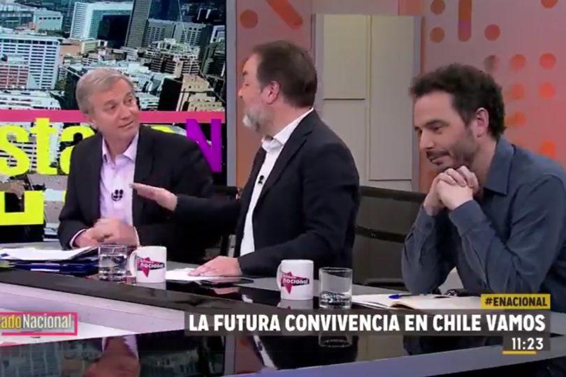 """""""¡Si los tienes comiendo cabritas!"""": el emplazamiento de Hernán Larraín Matte a José Antonio Kast"""