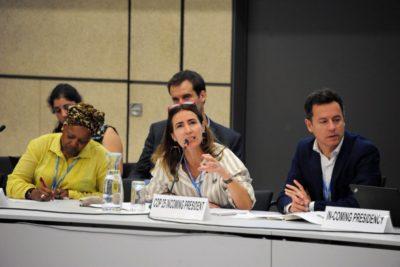 """Ministra Schmidt sobre COP25: """"Los trabajos de puesta en marcha en Cerrillos están ya comenzando"""""""