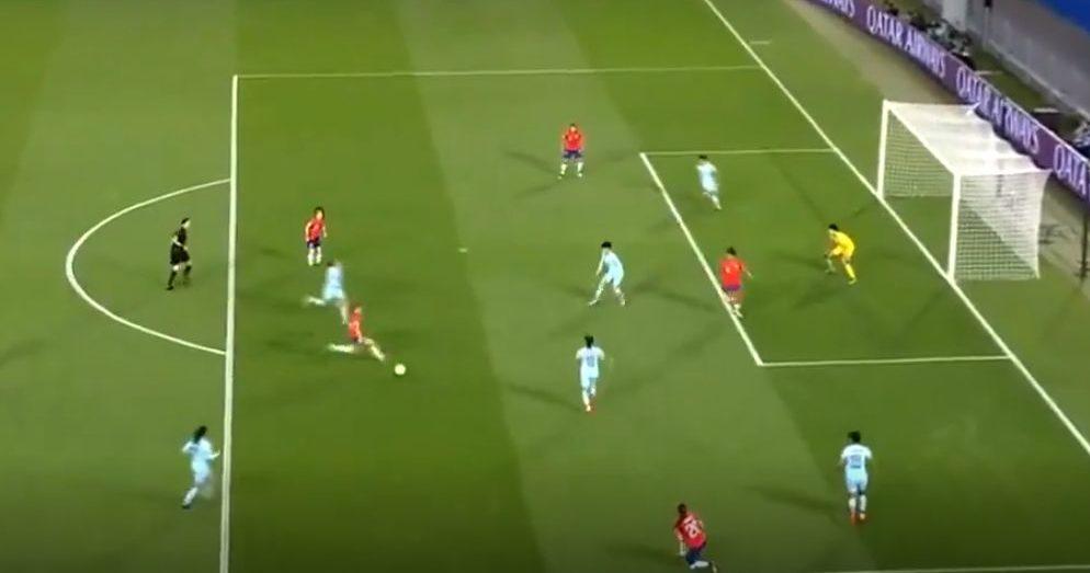 Así fue el primer gol de Chile en un Mundial de Fútbol Femenino