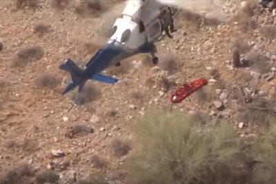 VIDEO | EEUU: el desastroso rescate de una mujer en helicóptero que se volvió viral