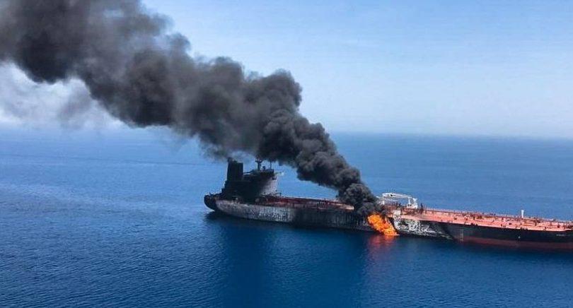 EE.UU. responsabilizó a Irán de los presuntos ataques contra dos buques en el golfo de Omán