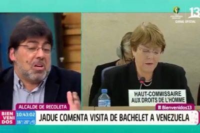 El tenso cruce entre Daniel Jadue y Polo Ramírez por Venezuela