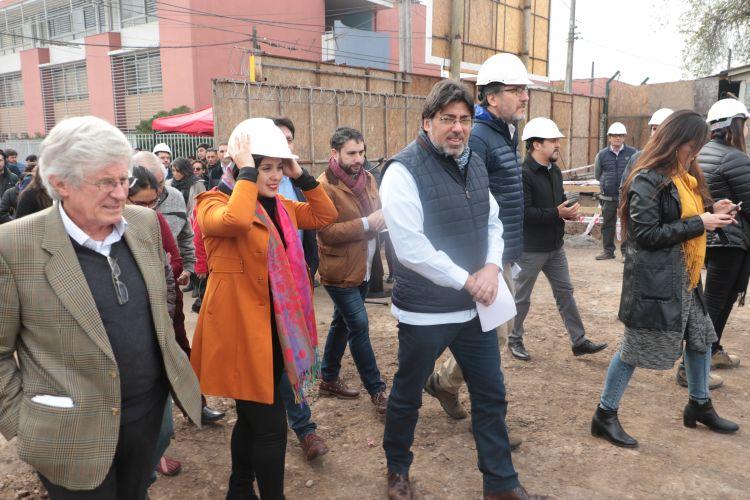 Jadue puso la primera piedra de proyecto de la Inmobiliaria Popular de Recoleta