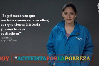 """""""Indigente Challenge"""": ola de críticas a Kel Calderón por participar en campaña del Hogar de Cristo"""