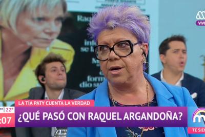 """Patricia Maldonado confirmó el despido de Raquel Argandoña: """"En ese panel no había ninguna relación de amistad"""""""