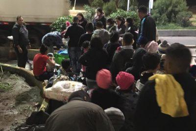 Arica: cerca de 500 migrantes intentan cruzar por paso fronterizo Chacalluta