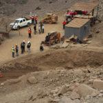 VIDEO | Mineros atrapados: Gobierno confirma un fallecido, un rescatado y un desaparecido