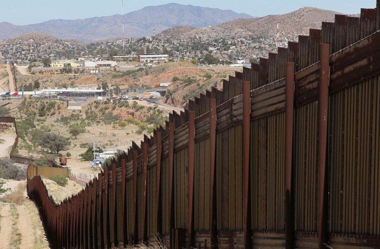 Trump hizo de la construcción del muro una de sus grandes promesas antes de llegar a la Casa Blanca.