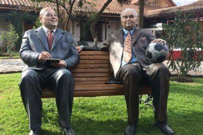 FOTOS | La Florida también presentó sus esculturas con personajes icónicos chilenos
