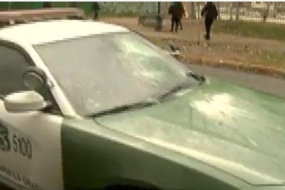 Atacaron patrulla de Carabineros: uniformados se refugiaron en hospital