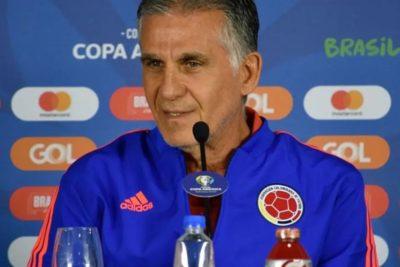 """DT de Colombia: """"Chile es el favorito, ellos son los que pueden perder el título"""""""