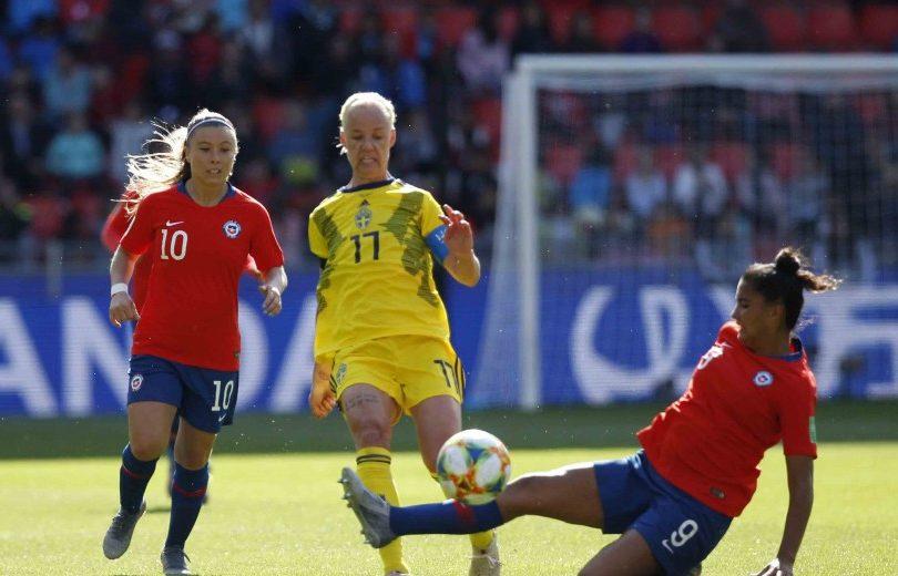 Chile cayó en la agonía ante Suecia en su estreno en el Mundial Femenino