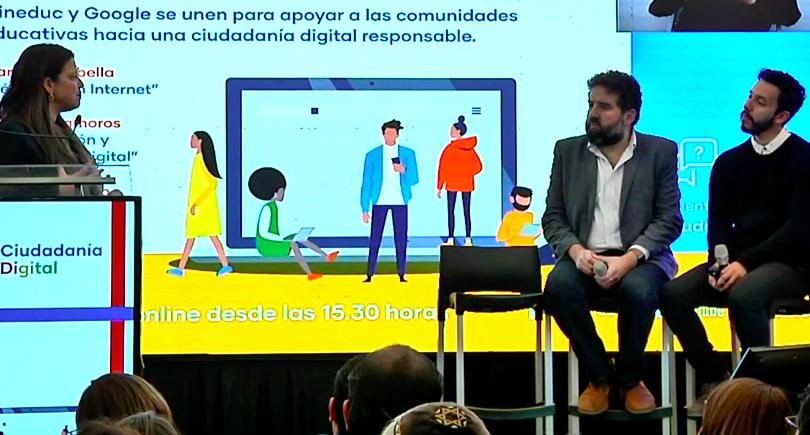 Mineduc inicia programa de herramientas de ciudadanía digital para docentes y estudiantes