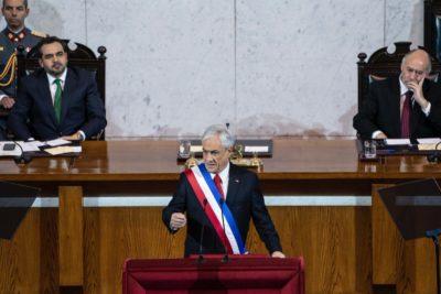 Piñera anunció licitación internacional para tren a Valparaíso y San Antonio