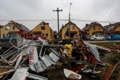 Un fallecido y más de 30.500 clientes sin luz deja paso de sistema frontal en la zona sur
