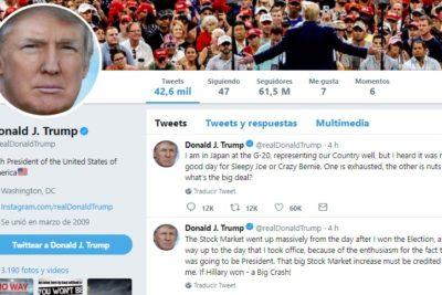 Twitter anuncia cambios que pueden quitar visibilidad a Trump