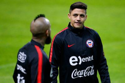 Arturo Vidal calma a los hinchas de la Roja ante lesión de Alexis Sánchez