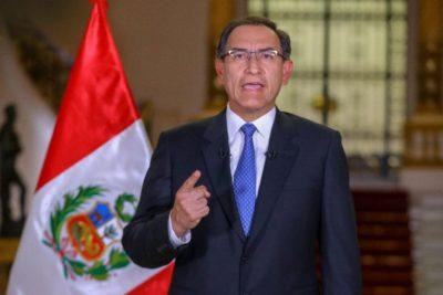 Congreso peruano aprobó moción de confianza para Vizcarra y evitó la disolución de su gobierno