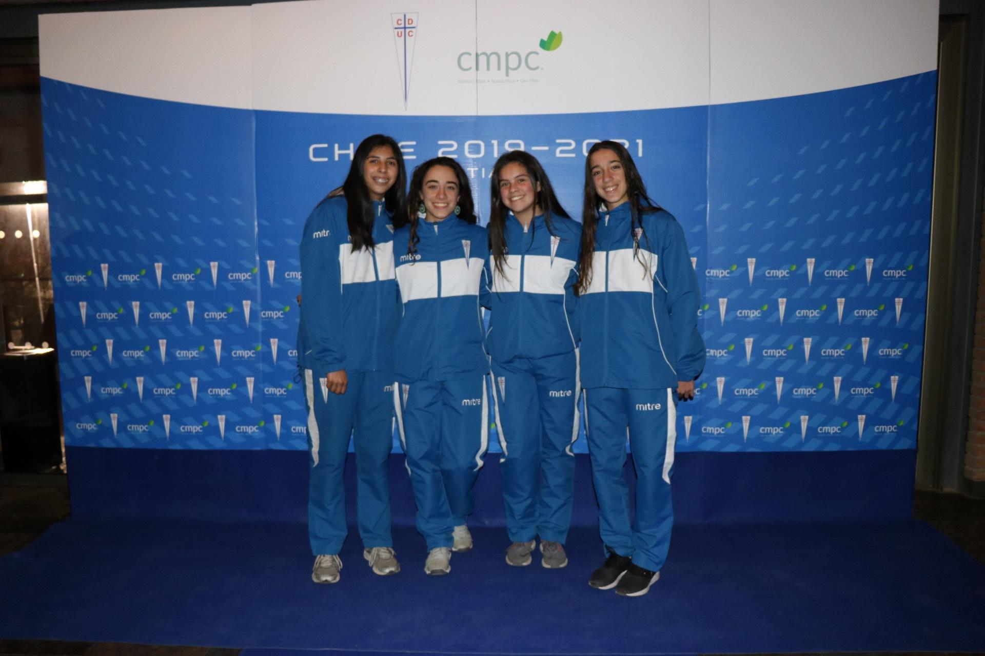 Club Deportivo UC y CMPC sellan alianza para promover la práctica deportiva