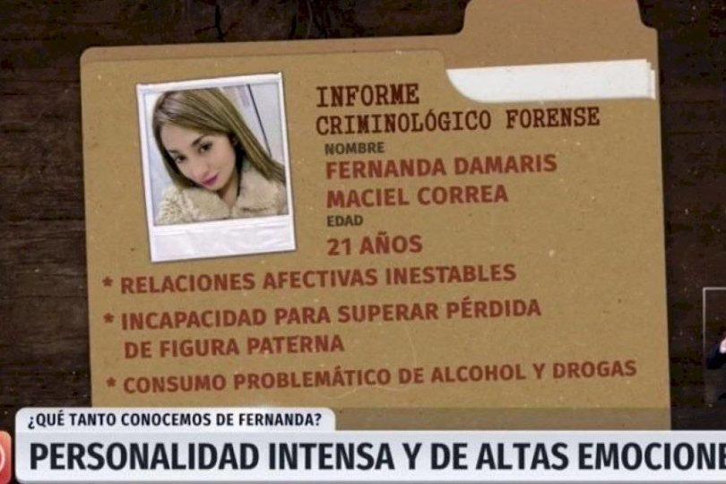 """TVN recibió más de 600 denuncias en el CNTV por reportaje sobre el """"perfil psicológico"""" de Fernanda Maciel"""