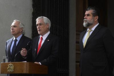 """La Moneda crea """"coordinación"""" con Interior, Cancillería y Defensa por aumento de migrantes"""