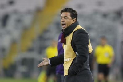 Copa Libertadores: Gallardo se quejó del arbitraje chileno en el River-Cruzeiro