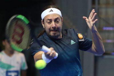 Nicolás Massú volverá este martes a jugar en el circuito de la ATP