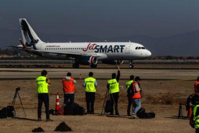JetSmart inaugura base de operaciones en el aeropuerto Carriel Sur de Concepción