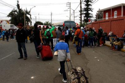 INE: Migrantes superan el 10% de la población en cuatro regiones