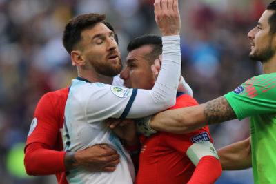 Argentina afina su estrategia para bajar una eventual sanción a Messi