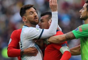 """""""La parte que no quieren que veas"""": el video que muestra el otro lado de la pelea Messi-Medel"""