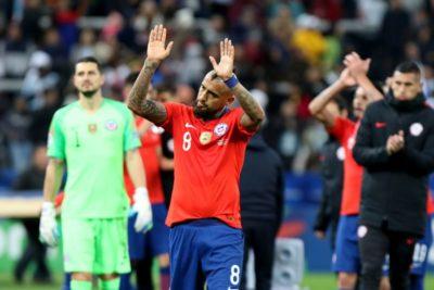 Arturo Vidal fue el único chileno en el equipo ideal de la Copa América