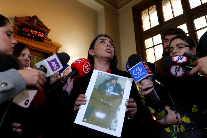 """Juzgado denuncia a Rubilar por """"exposición pública"""" de estudiante del Instituto Nacional"""
