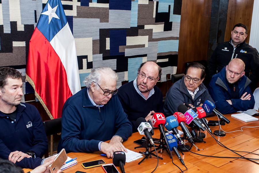 Osorno sin agua: ministro Moreno asegura que no hay fecha para restablecimiento de servicio