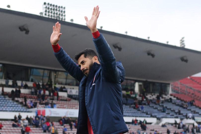 """Herrera y su futuro en la U: """"Me pagan lo que me queda de contrato y estamos"""""""