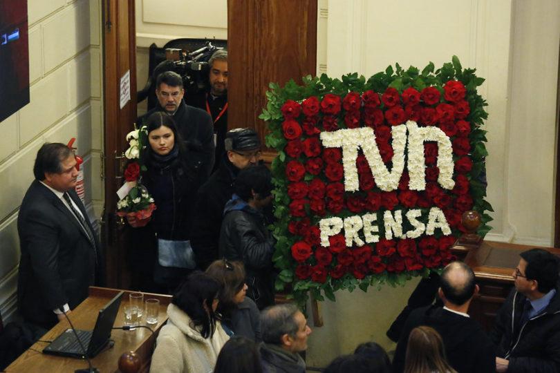 Piñera lideró despedida de restos de Fidel Oyarzo en ex Congreso Nacional