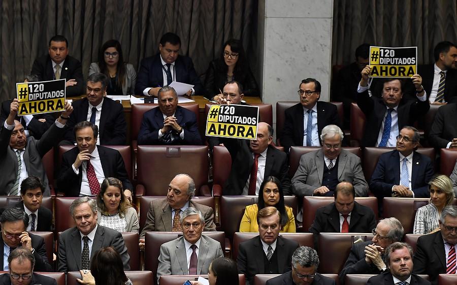 """""""Gobierno insistirá en fórmula para reducir el número de parlamentarios"""""""