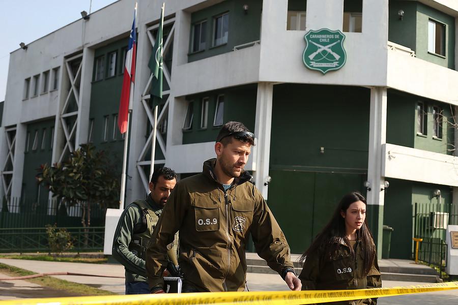 Amplían a 8 carabineros el número de heridos por atentado en Huechuraba