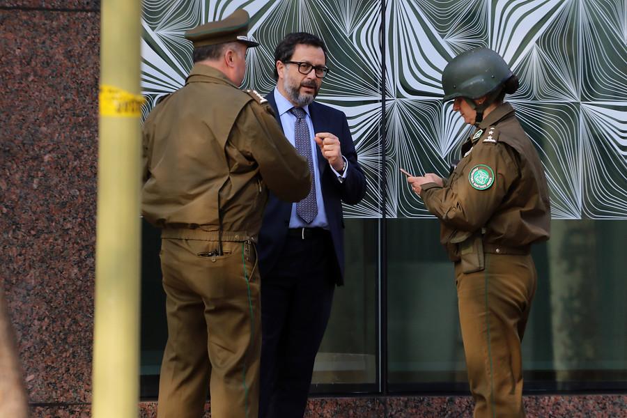 """Rodrigo Hinzpeter y paquete sospechoso: """"Me avisaron cuando llegué al edificio"""""""