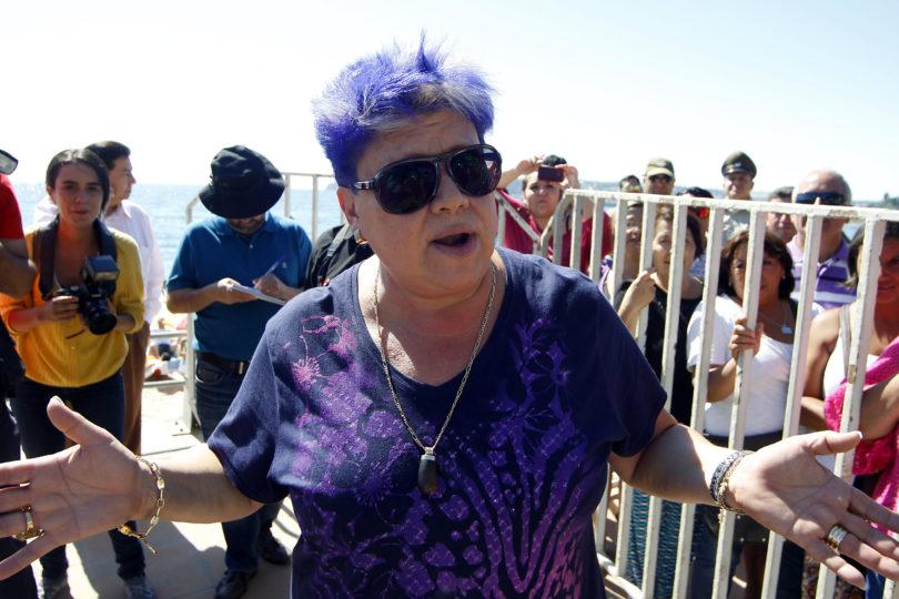 """""""Vi las cámaras y la cara de ella la tengo aquí"""": Patricia Maldonado relató el robo que sufrió en concurrido mall capitalino"""