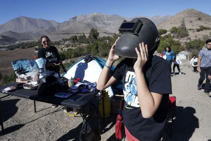 Intendencia de Coquimbo ya alista salida de turistas tras eclipse