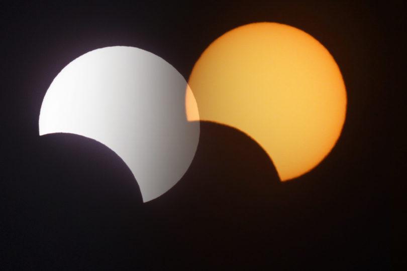 FOTOS   Así se ve el eclipse total de Sol en la Región de Coquimbo