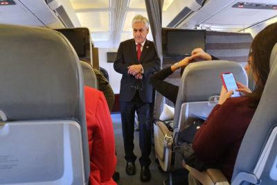 Piñera viaja a Lima para asumir presidencia pro témpore de Alianza del Pacífico