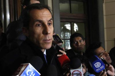 """Alessandri por amenaza: """"No quiero agrandar el tema, fiscalía actúa de oficio"""""""